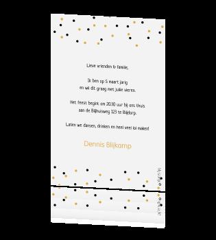 Leuke Tekst Uitnodiging Verjaardag.Uitnodiging Verjaardag 50 Jaar Bier Confetti